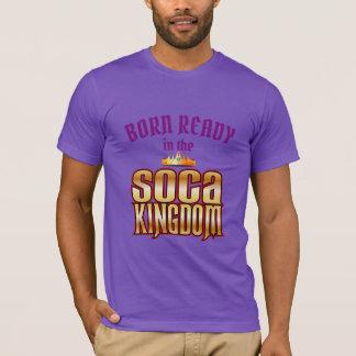 Camiseta (En) reino listo llevado (Editable) de Soca
