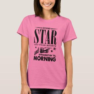 Camiseta En segundo lugar estrella a la derecha