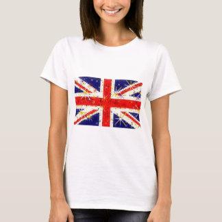 Camiseta Encanto BRITÁNICO del glitz de la bandera