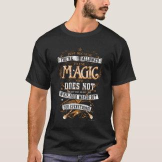 Camiseta Encanto el | de Harry Potter apenas porque le no