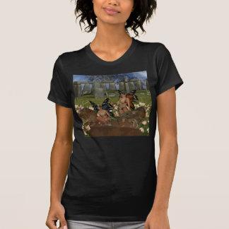 Camiseta Encargados del guerrero de Avalon de la fe vidente