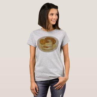 Camiseta Enchiladas del polluelo de las mujeres con las