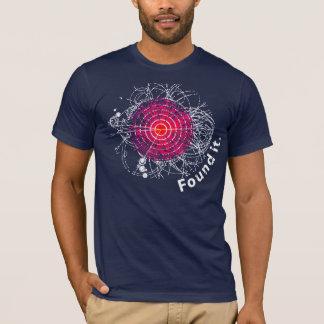 Camiseta ¡Encontrado le! Bosón de Higgs