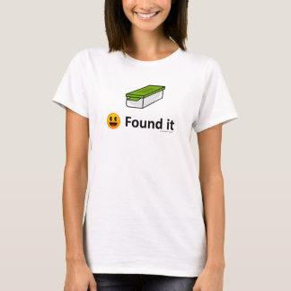 Camiseta Encontrado lo - icono de Geocaching Geocache