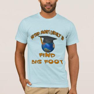 Camiseta Encuentre el pie grande