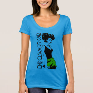 Camiseta ENDO del Polivinílico-Algodón de American