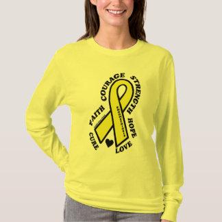 Camiseta Endometriosis de la curación del amor de la