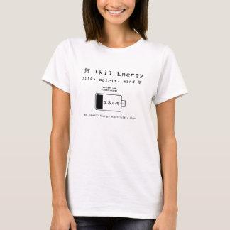 Camiseta Energía - batería baja