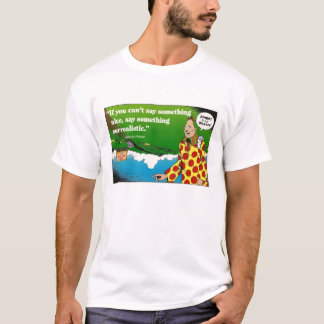 Camiseta enérgica surrealista