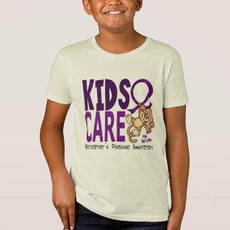 Camiseta Enfermedad de Alzheimer del cuidado 1 de los niños