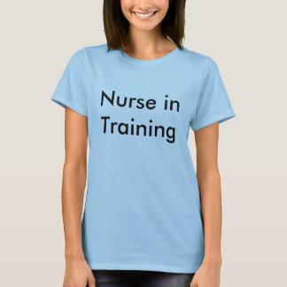 Camiseta Enfermera en el entrenamiento