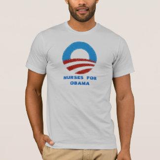 Camiseta Enfermeras para Obama