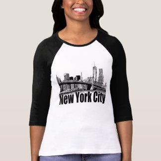 CAMISETA ENGRANAJE DE NEW YORK CITY