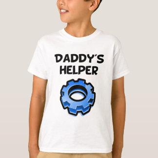 Camiseta Engranaje del ayudante del papá