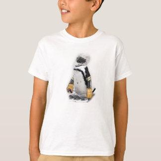 Camiseta Engranaje del hockey del pequeño pingüino que