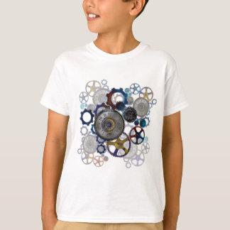 Camiseta Engranajes del steampunk de Psychadelic, dientes,