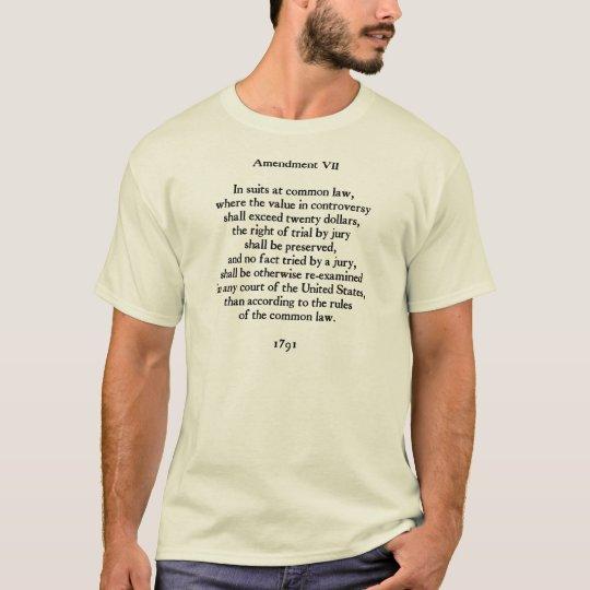 Camiseta Enmienda VII