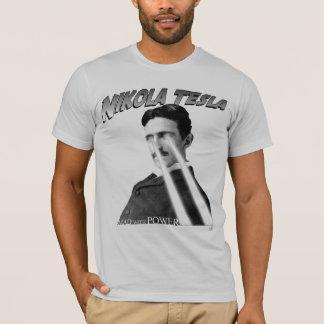 Camiseta Enojado con el poder blanco y negro