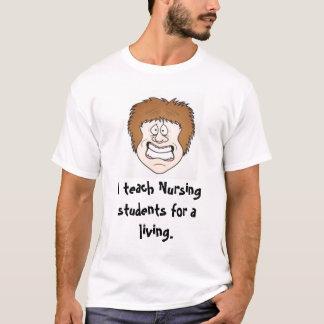 Camiseta Enseño a los estudiantes del oficio de enfermera