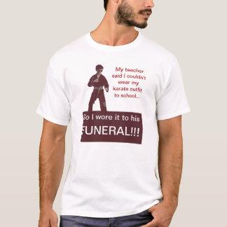 Camiseta Entierro del karate