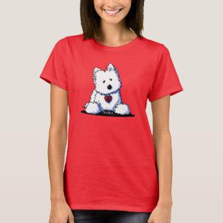Camiseta ENTRADA a MI CORAZÓN Westie