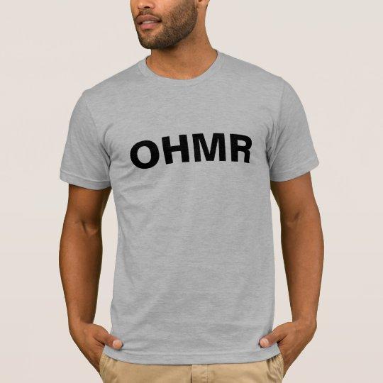 Camiseta Entrenamiento físico T de OHMR