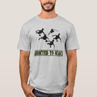 Camiseta ¡Enviciado al curandero!