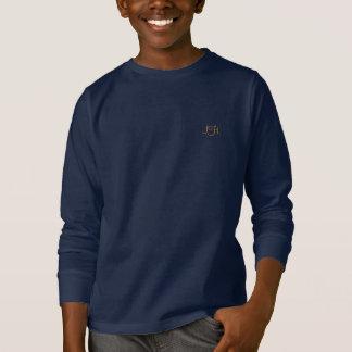 Camiseta envuelta larga de los azules marinos
