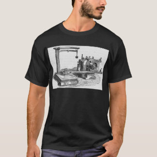 Camiseta Ephemeras antiguas del vintage de la herramienta