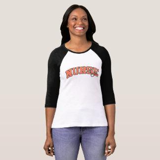 Camiseta Equipo atlético del empleo de la enfermera