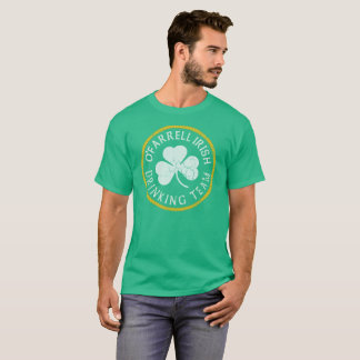 Camiseta Equipo de consumición del irlandés de O'Farrell