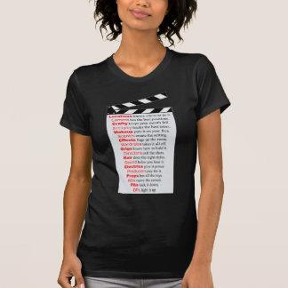 Camiseta Equipo de filmación