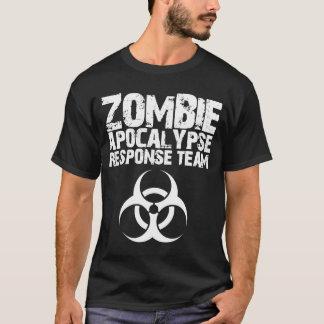 Camiseta Equipo de la respuesta de la apocalipsis del zombi