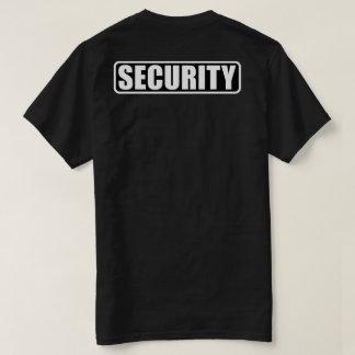 Camiseta Equipo de la seguridad del acontecimiento - frente