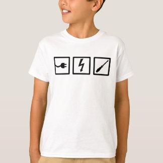 Camiseta Equipo del electricista