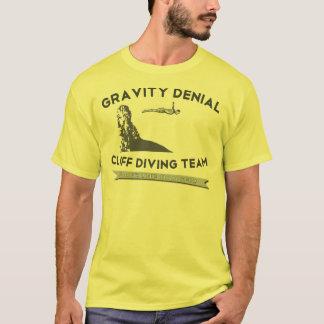 Camiseta Equipo del salto del acantilado de la negación de