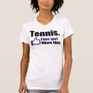 Camiseta Equipo divertido del tenis