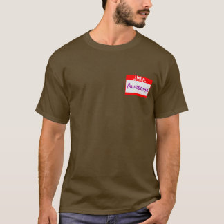 Camiseta Equipo inmediato de la identidad