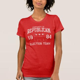 Camiseta Equipo republicano retro 1984 de la elección