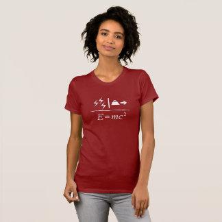 Camiseta Equivalencia de energía total