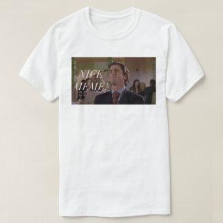 Camiseta era apenas un bro del meme