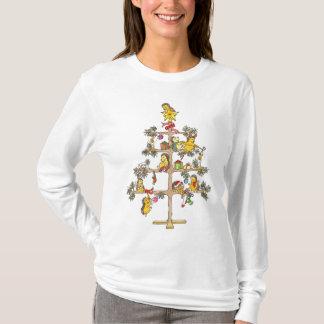 Camiseta Erizos del árbol de navidad