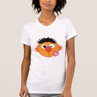 Camiseta Ernie hace frente a lanzar un beso