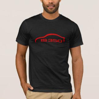 Camiseta ES el logotipo de la silueta de 350 rojos