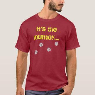 Camiseta Es el viaje… no el destino