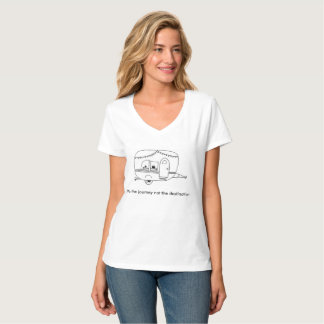 Camiseta Es el viaje no el destino