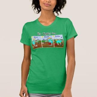 Camiseta Es hora de plantar, crece, relaja - el jardín de