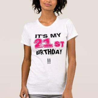 Camiseta ¡Es mi 21ro cumpleaños!