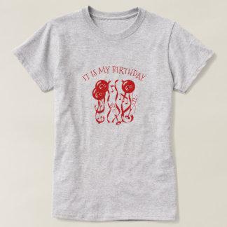 Camiseta es mi cumpleaños que soy 60 años