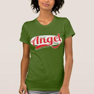 Camiseta Es una cosa del ángel que usted no entendería